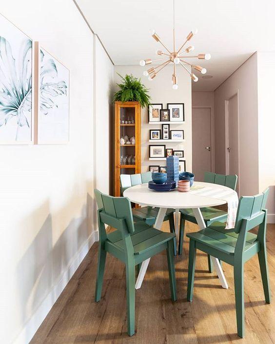 Cadeira UMA Colorida - Verde | via @studiojanela