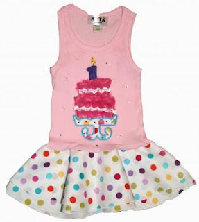 Having a birthday celebration?  Look no further!    Fun, frilly and fabulous party favors, outfits, dresses and hats for that special little girl!