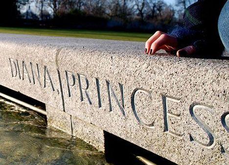 Fuente Memorial a la Princesa Diana