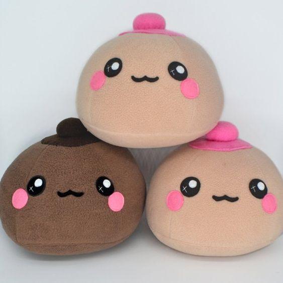 Breast plush toy / pillow / comfort cushion / kawaii handmade