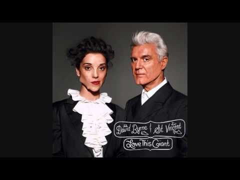 David Byrne & St. Vincent- Dinner For Two - YouTube