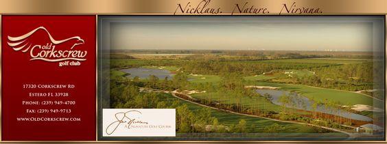 Naples Golf Course | Southwest Florida Golf Club | Old Corkscrew | Estero, FL