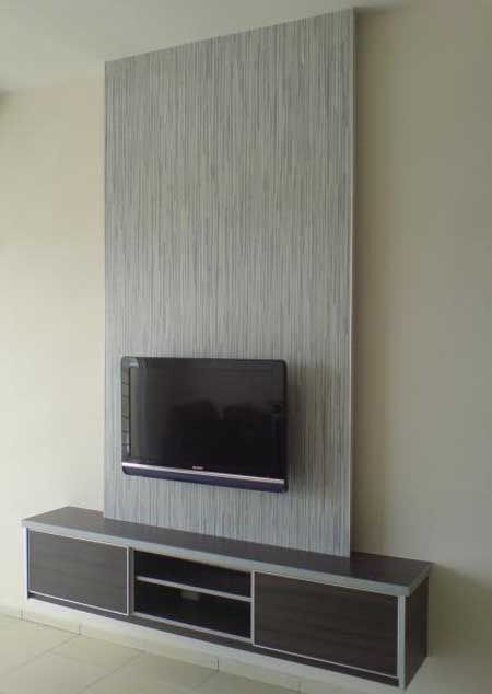 Simple tv cabinet design home theaters pinterest tv for Simple lcd wall unit designs