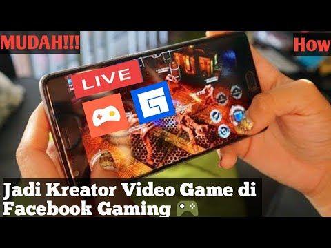 Cara Live Streaming Facebook Gaming Menggunakan Hp Android Youtube Di 2020 Video Youtube