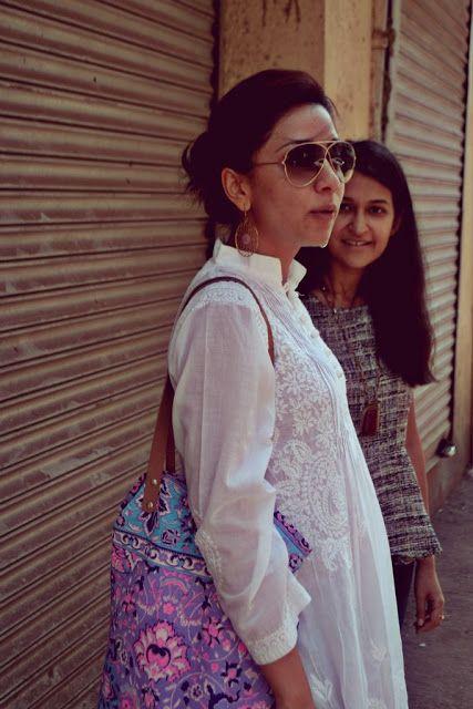 Street Style: Of Chikan and Tweed | Purple Peeptoes