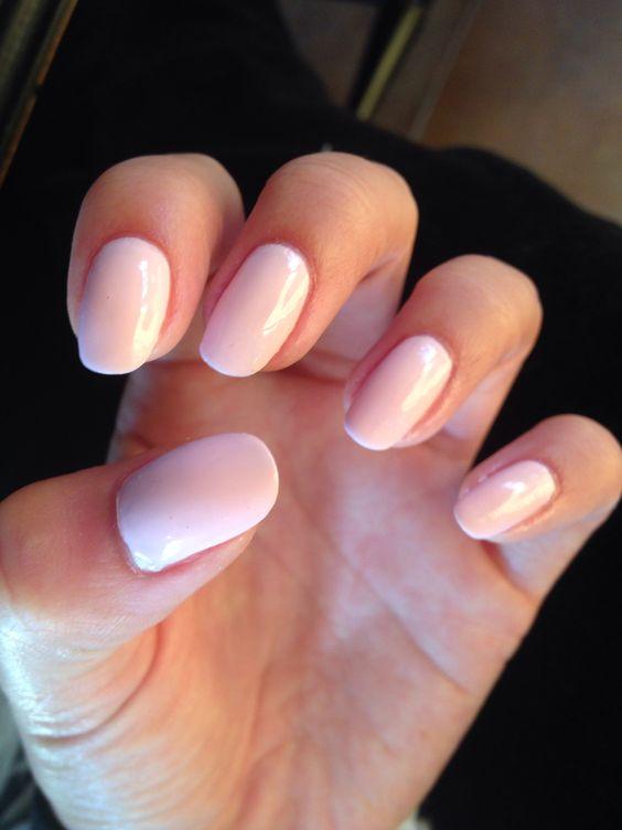 Round nails Fiji by Essie   Makeup/nails   Pinterest ...