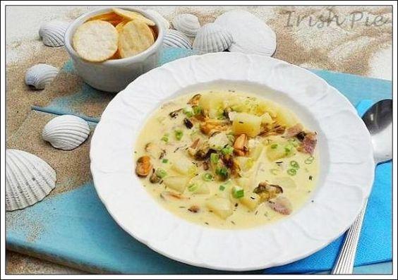 Neues Rezept bei Homemeals SÄMIGE MUSCHELSUPPE AUS NEU ENGLAND von Bea http://www.homemeals.de/rezept/view/1056