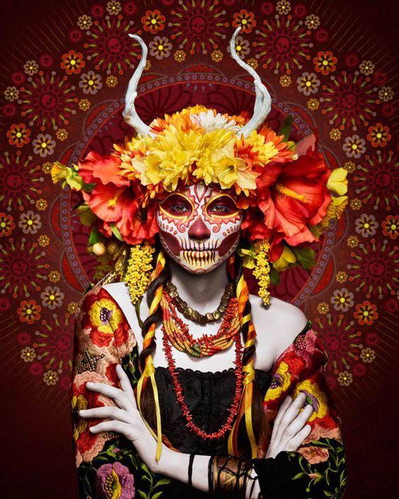 ♠ Las Muertas by Tim Tadder (photo), Krisztianna (maquillage) et Julia Reeser (costumes) ♠