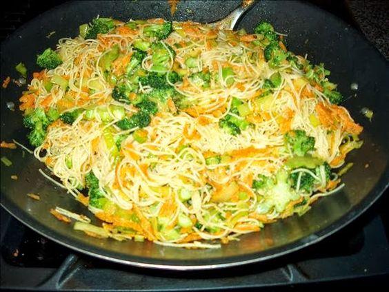 Sri Lankan Tasty Recipes: SRI LANKAN STYLE RICE STICK / NOODLES DISH
