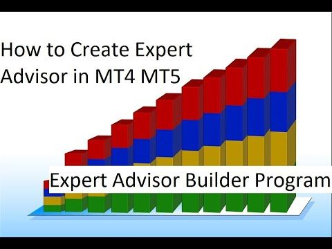 How To Create Expert Advisor In Mt4 Mt5 Expert Advisor Builder