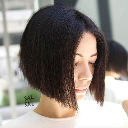 One Length Haircuts That Ll Convince You To Ditch Those Layers One Length Haircuts Hairstyles For Thin Hair Short Thin Hair