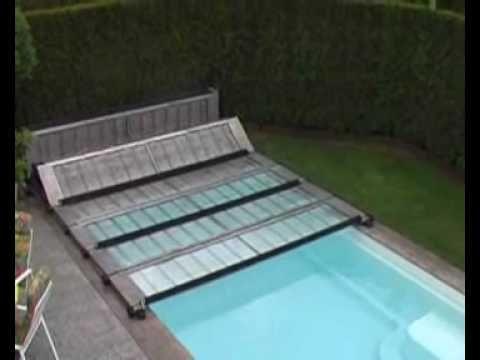 Cabrio Dome für Rundbecken bis 4,50 m (4,60 m) Schwimmbad - reihenhausgarten und pool