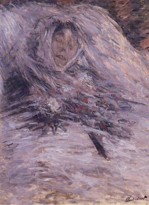 Camille Monet morte