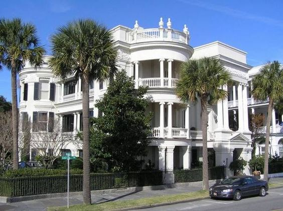 South carolina charleston sc and historic homes on pinterest for Charleston row houses