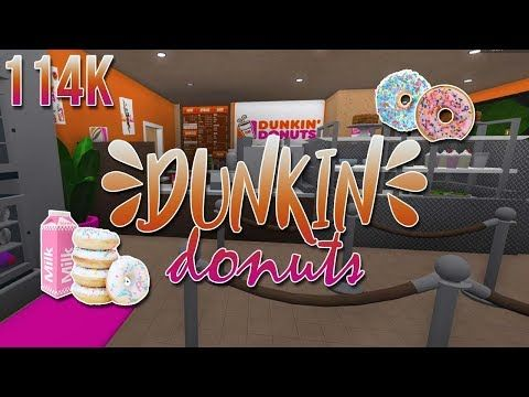 How To Get A Job At Dunkin Donuts Roblox