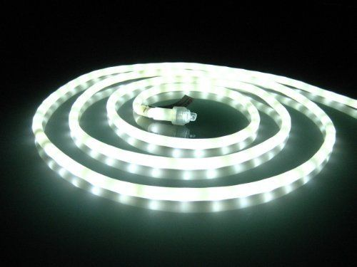 18ft cool white chasing led rope light kit christmas lighting 18ft cool white chasing led rope light kit christmas lighting outdoor rope lighting by diode art 5960 orange tree trade the largest collecti aloadofball Gallery