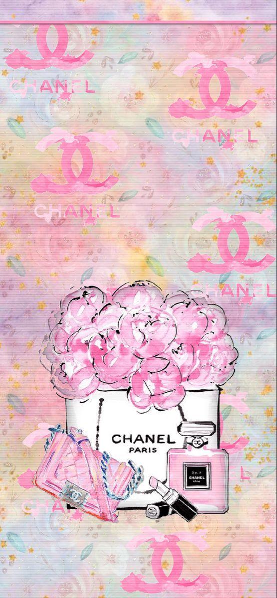 Chanel Le Girl Wallpapers Reeseybelle Girl Wallpaper Iphone Wallpaper Chanel Wallpapers