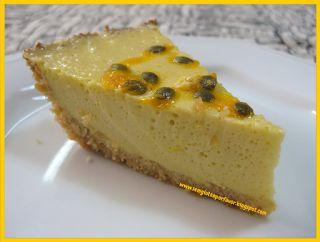 Sem glúten, por favor!: Receita de hoje: torta de maracujá