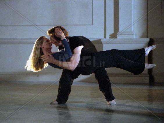 Patrick swayze... Patrick Swayze And Lisa Niemi Dancing ...