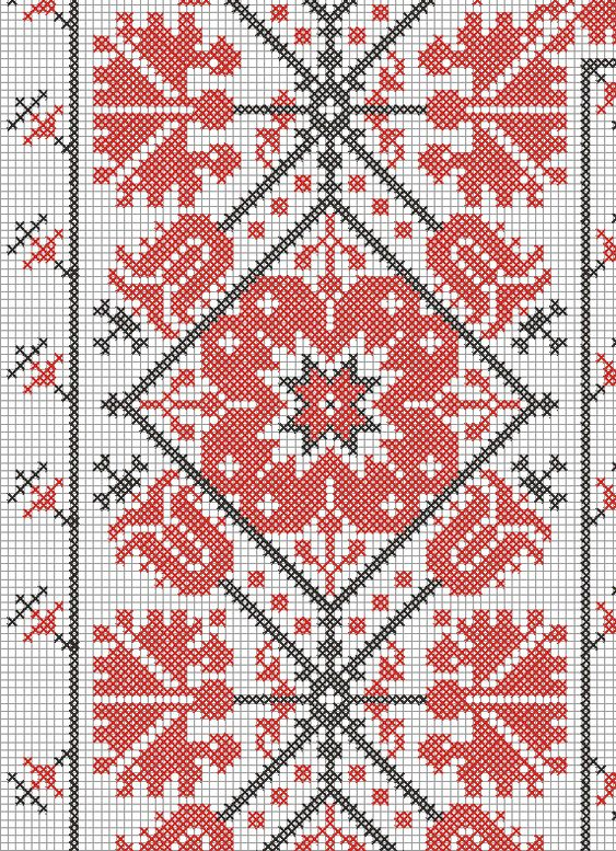 Embroidery and embroider: weekly pattern (4)