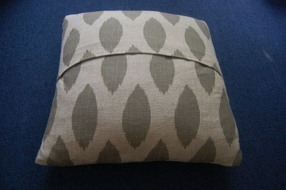 No sew pillow covers! I did this today and it was super easy and my pillows look great!!