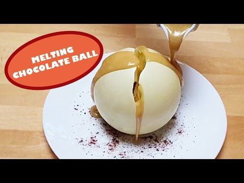 Magic Chocolate Ball (Slow Motion)