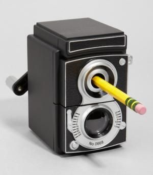 Vintage Camera Pencil Sharpener   ON WANELO