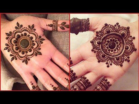 Palm Tikka Mehndi Designs Collections For Front Hand Gol Tikki Hira Mehndi Designs 2019 Youtube Mehndi Designs Desain Henna Mehndi