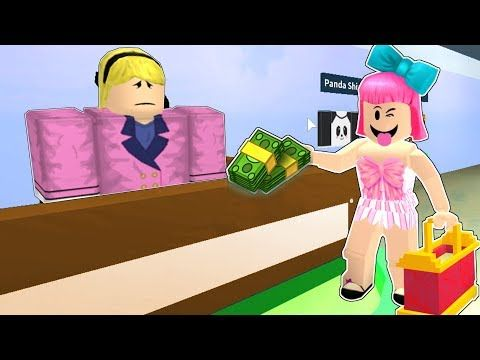 Roblox Shopping Simulator Youtube Roblox Mini Games How