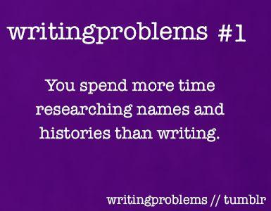 Writing problem?