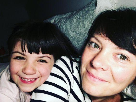 Bedtime selfies with my girl xox
