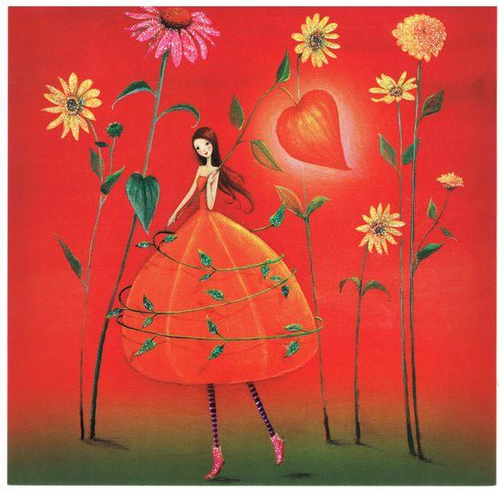 Fée Crépuscule - Cartes d'Art/Mila Marquis - Lulu Shop: