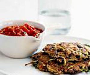 Zucchini pancakes, Zucchini and Pancakes on Pinterest