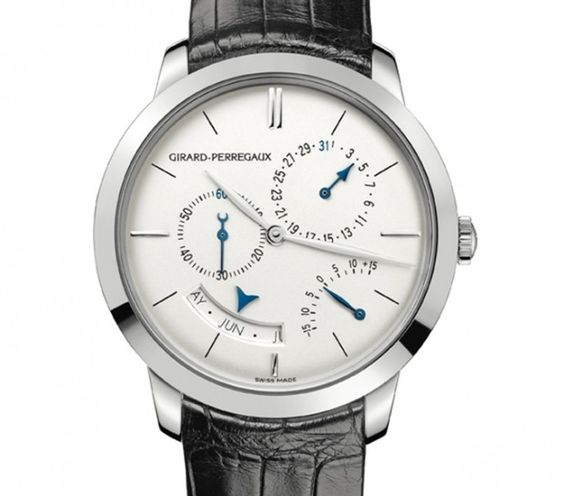 White Gold, 40mm Girard-Perregaux 1966 Annual Calendar and Equation of Time