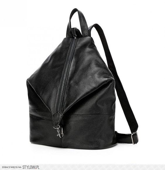 Fahional Black Preppy Style,European and American Style Backpack