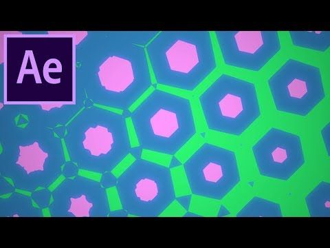 How To Create Colorful Geometric Patterns In Adobe After Effects