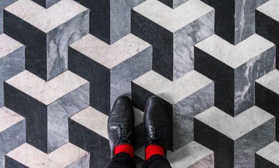 Nos adentramos en los pavimentos y suelos de mosaicos. Ejemplos de la belleza de…