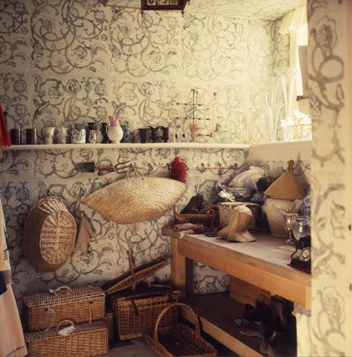 Cecil Beaton's Flower Room, Reddish House,  Cecil Beaton: