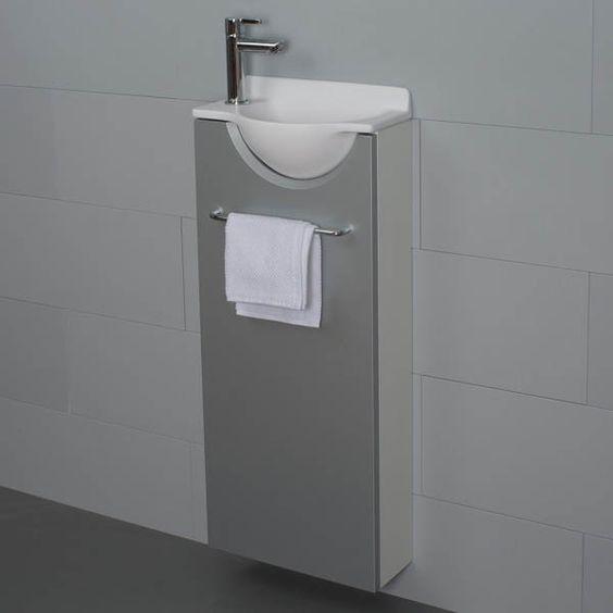 mikro long gauche petit meuble lave mains wc pinterest mains salle de bain et lave main. Black Bedroom Furniture Sets. Home Design Ideas