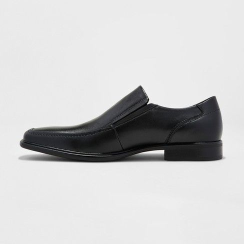 Goodfellow /& Co Men/'s Jefferson Slip-on Loafers Black Dress Shoes