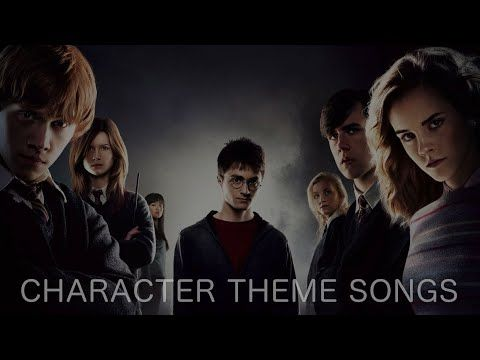 Harry Potter Character Theme Songs Youtube In 2021 Harry Potter Characters Harry Potter Theme Song