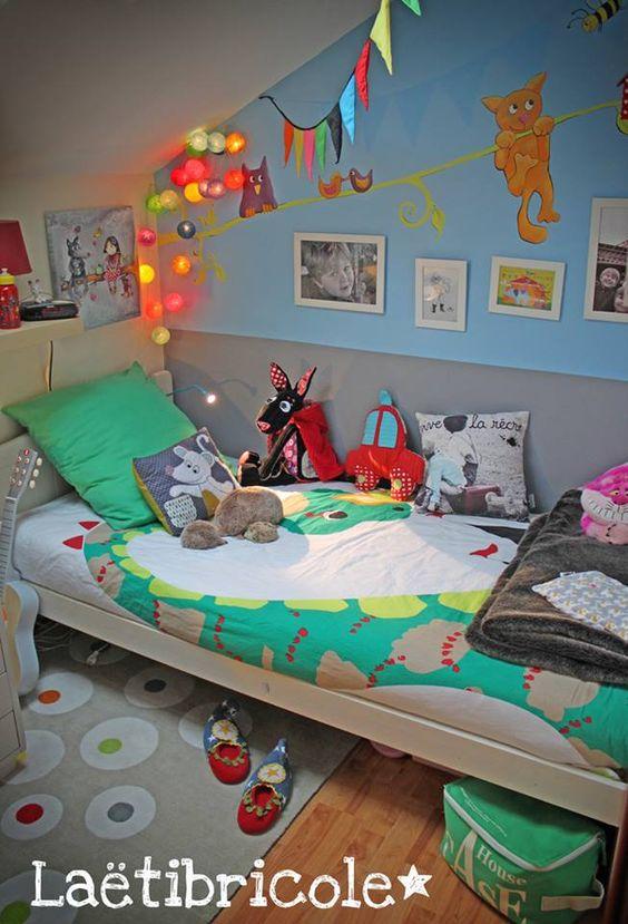 Chambre de petit garçon chez Laetibricole ! http://laetibricoleici.canalblog.com/