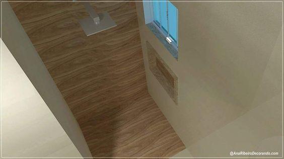 Casa Dreams: Projeto 3D dos Banheiros