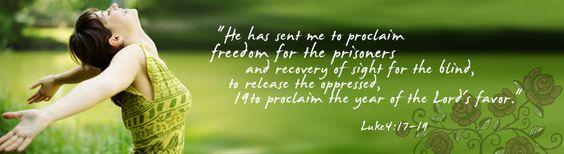 Luke 4: 17-19
