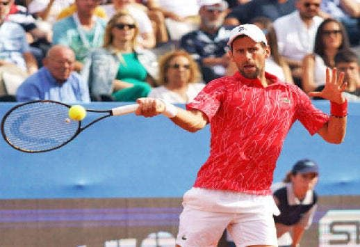 جوكوفيتش نادال كان أفضل مني Tennis Racket Tennis Sports