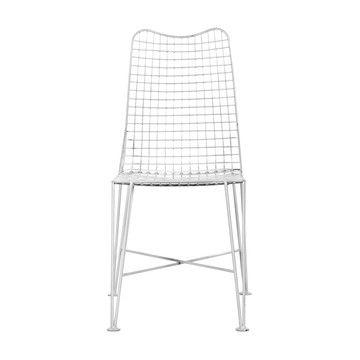 Stuhl Glenny Weiß 2 Stk, 165€, jetzt auf Fab.