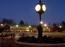 Pauls Valley offers a charming downtown district and is a stop on Amtrack's Heartland Flyer route.