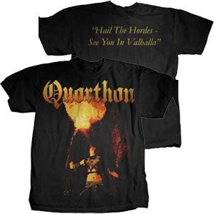 Quorthon Fire Shirt