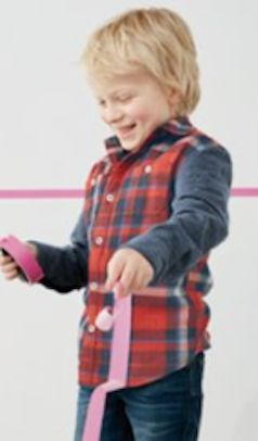 woven plaid shirt for boys