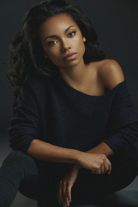 Logan Browning and what I would assume to be something Ora Martili would wear in my book